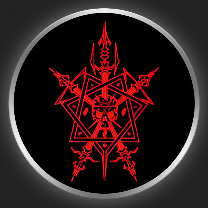 CELTIC FROST - Octagram Button