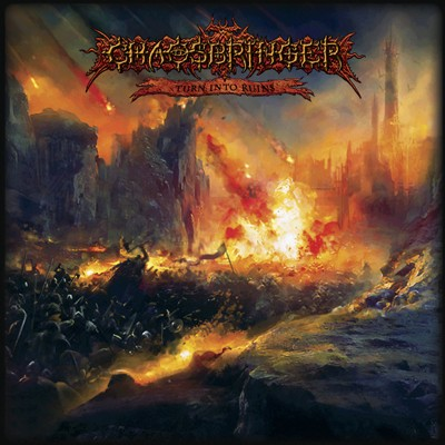 CHAOSBRINGER - Turn Into Ruins LP (Bloodred / Black Splatter)