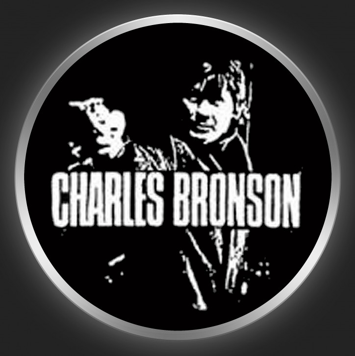 CHARLES BRONSON - Charles Bronson Button