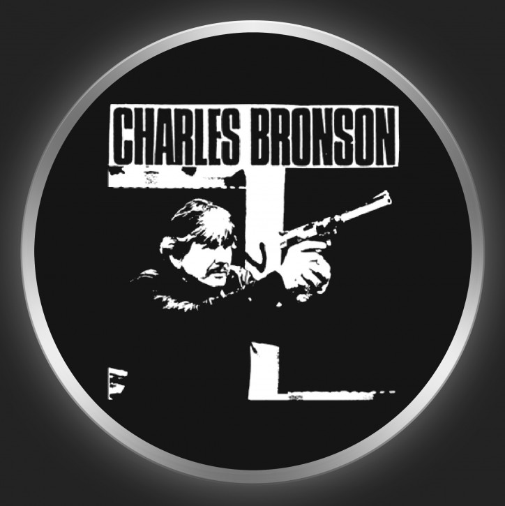 CHARLES BRONSON - Tough Guy Button