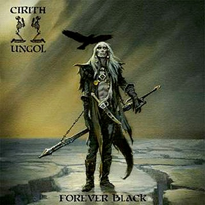 CIRITH UNGOL - Forever Black LP (Light Olive Green)