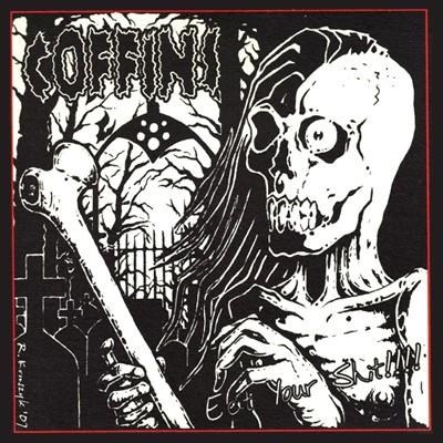 COFFINS / LOBOTOMIZED - Split EP