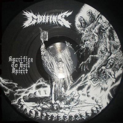 COFFINS - Sacrifice To Evil Spirit PICTURE LP