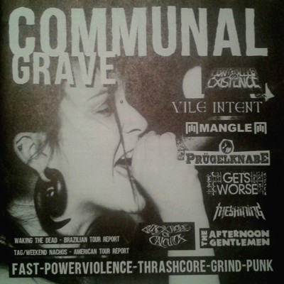 COMMUNAL GRAVE Fanzine Number 1 + Comp. First Hit 10""