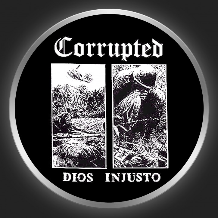 CORRUPTED - Dios Injusto Button