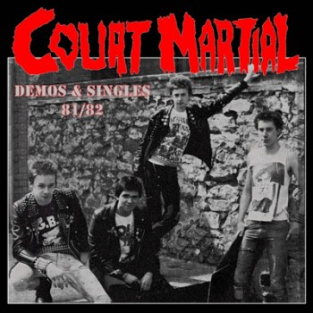 COURT MARTIAL - Demos & Singles 81 / 82 LP (Ultratransparent)