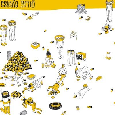 "CSIHÁS BENÖ / LJUBISA SAMARDZIC - Split 10"""