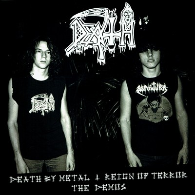 DEATH - Death By Metal + Reign Of Terror (The Demos) LP