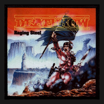 DEATHROW - Raging Steel Patch