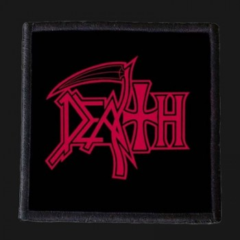 DEATH - Red Logo Patch