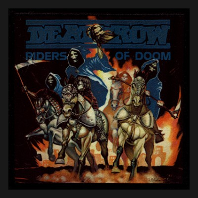 DEATHROW - Riders Of Doom Patch