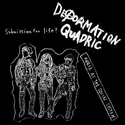 DEFORMATION QUADRIC - Anger The Social System LP