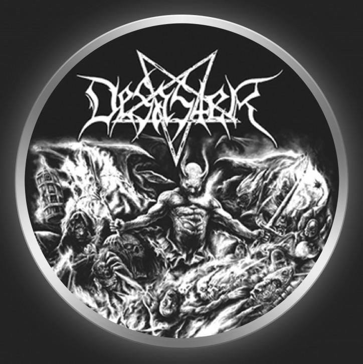 DESASTER - The Arts Of Destruction Button