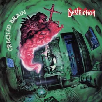 DESTRUCTION - Cracked Brain LP (Transparent Electric Blue)