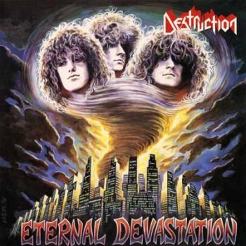 DESTRUCTION - Eternal Devastation LP (Transparent Sea-Blue)