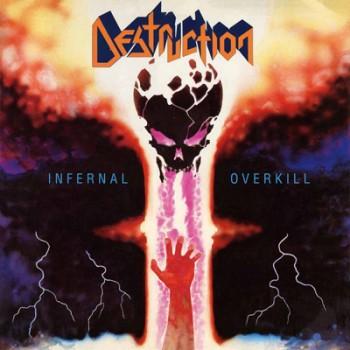 DESTRUCTION - Infernal Overkill LP (Transparent Orange Crush)