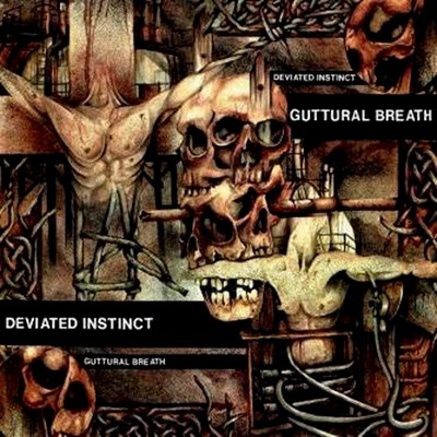 DEVIATED INSTINCT - Guttural Breath LP