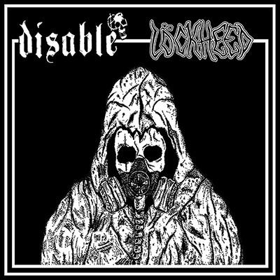 DISABLE / LÖCKHEED - Split EP