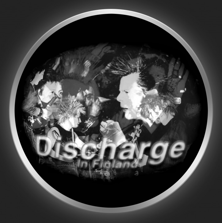 DISCHARGE - In Finland Button