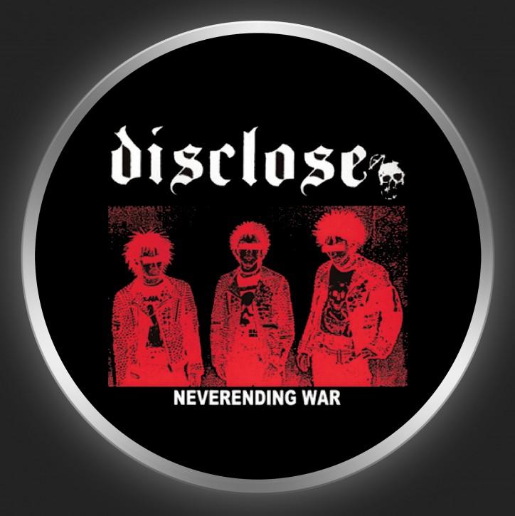 DISCLOSE - Neverending War Button