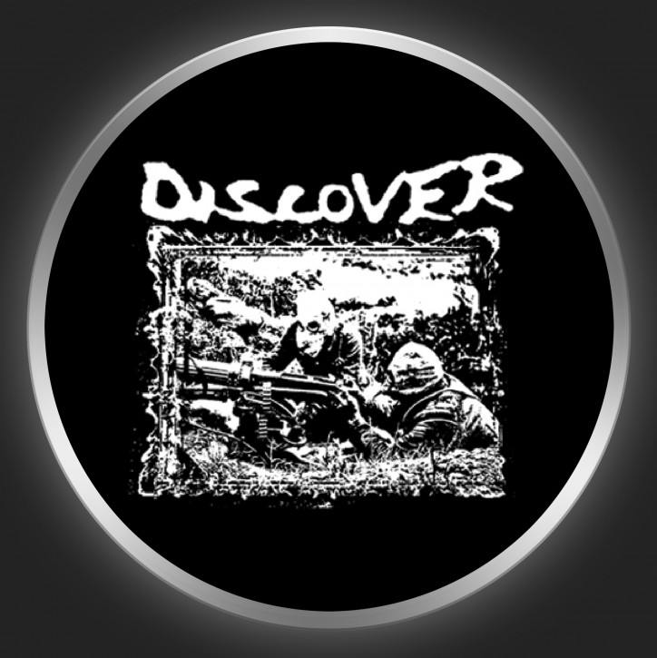 DISCOVER - Crimes Of Humanity Button