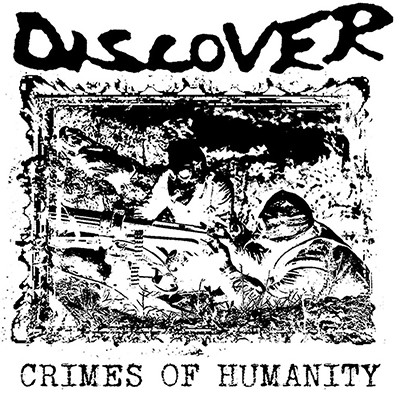 DISCOVER - Crimes Of Humanity LP (Red)