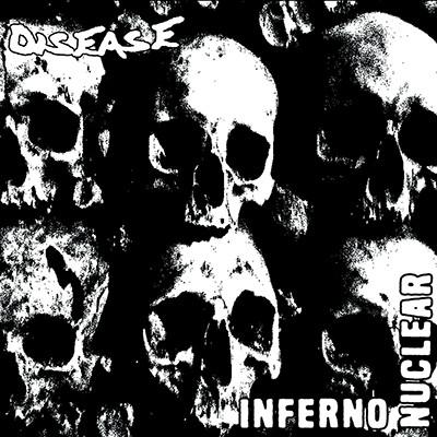 DISEASE / BESTHÖVEN - Split EP