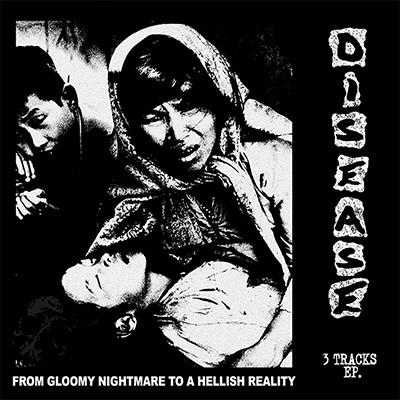 DISEASE / BETTER REALITY - Split EP