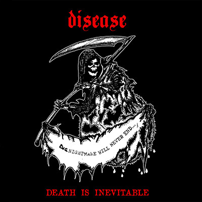 DISEASE - Death In Inevitable LP (Black)