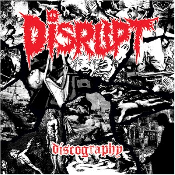 DISRUPT - Discography 4 x LP Box