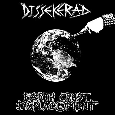 DISSEKERAD / EARTH CRUST DISPLACEMENT - Split EP