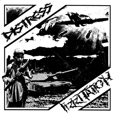 DISTRESS / IRRITATION - Split EP