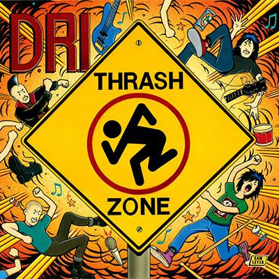 D.R.I. - Thrash Zone LP