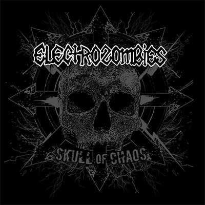 ELECTROZOMBIES - Skull Of Chaos LP (White)