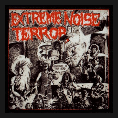 EXTREME NOISE TERROR - A Holocaust In Your Head Patch