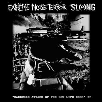 EXTREME NOISE TERROR / SLANG - Split EP