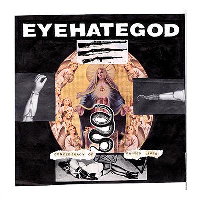 EYEHATEGOD - Confederacy Of Ruined Lives LP (Gold)