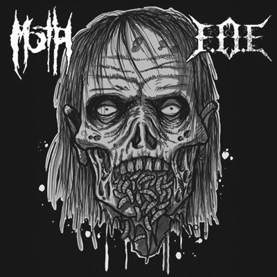 FEAR OF EXTINCTION / MARCH OF THE HORDES - Split EP (White)