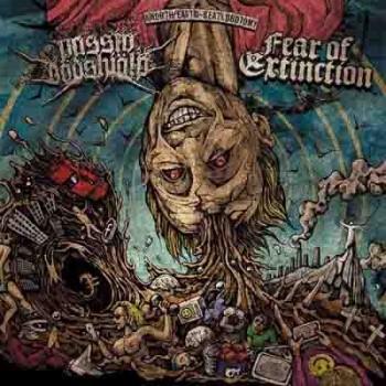 FEAR OF EXTINCTION / PASSIV DÖDSHJÄLP - Split LP