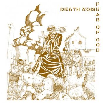 FEAR OF GOD / DEATH NOISE - Split LP (Gold / White Cover)