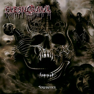 FLESHCRAWL - Soulskinner LP (Clear Flesh-Colored)