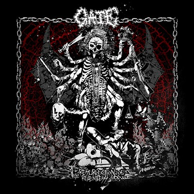 GATE - Resurrection Of Relentless God LP