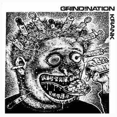 GRIND!NATION / CALIFORNIA CULT CRAP - Split 10""