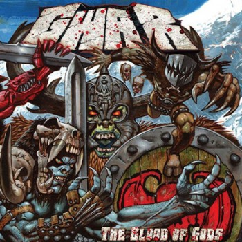 GWAR - The Blood Of Gods 2 x LP (Silver)