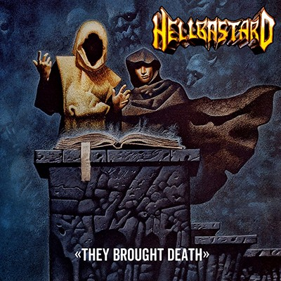 "HELLBASTARD - They Brought Death 10"" (Toxic Yellow)"