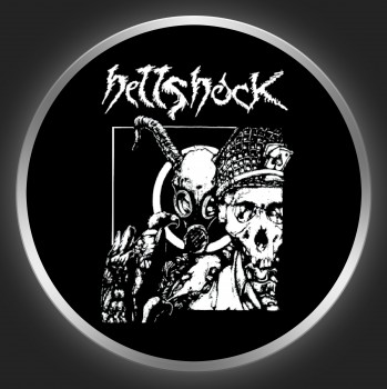 HELLSHOCK - Only The Dead Know The End Of War Button