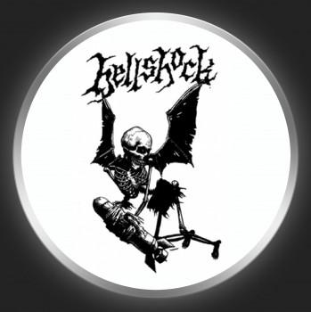 HELLSHOCK - Skeleton Bomber Button