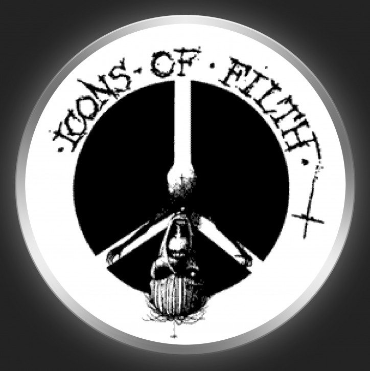 ICONS OF FILTH - Peace Sign Button
