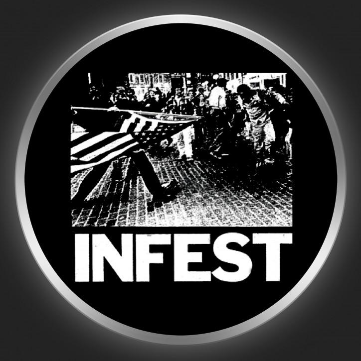 INFEST - Machismo Button