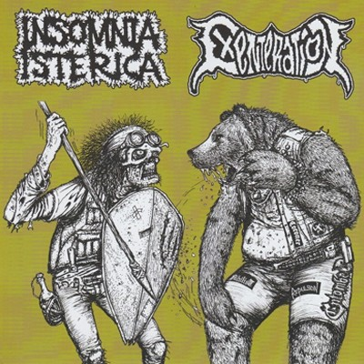 INSOMNIA ISTERICA / EXENTERATION - Split EP